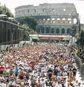 Partenza della Maratona di Roma 2005