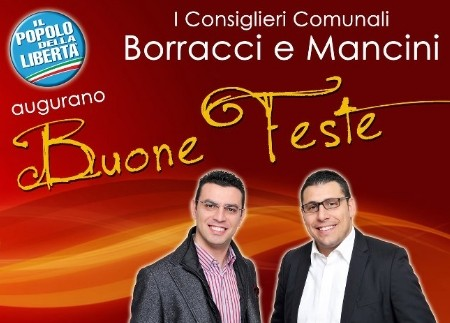 Buone Feste dal PDL Palagiano