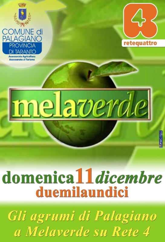 "Clementine di Palagiano a ""Mela Verde"""