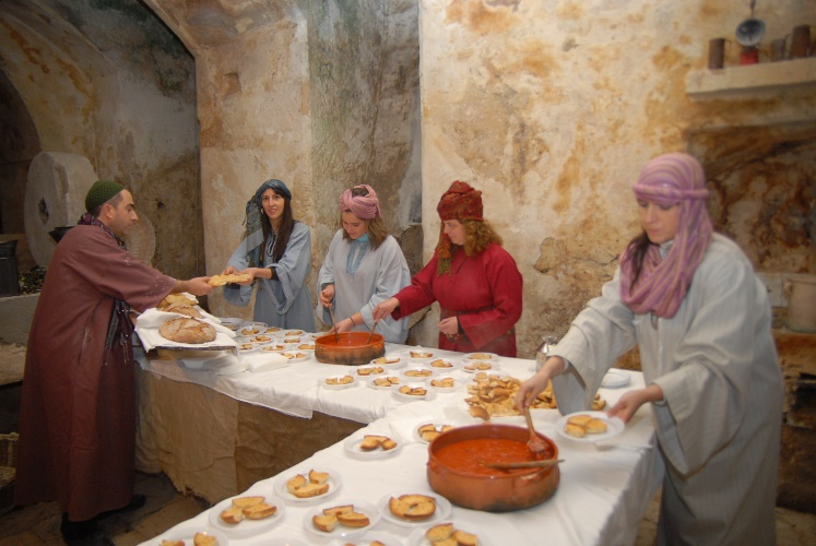 Presepe Vivente al Centro Storico a Castellaneta 26 dicembre 2011