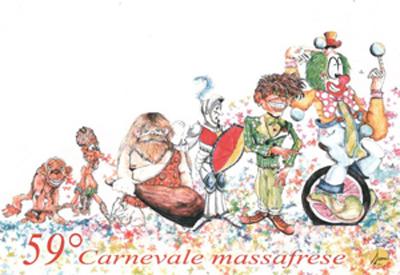 Cartolina e annullo filatelico portano nel mondo il 59° Carnevale Massafrese