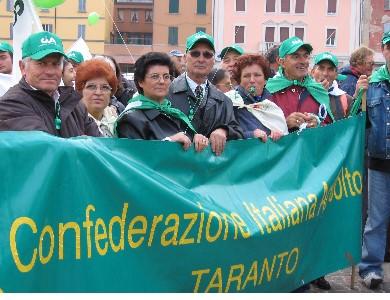 A Castellaneta Marina, si terrà l'Attivo provinciale dell'Associazione Nazionale Pensionati di Taranto
