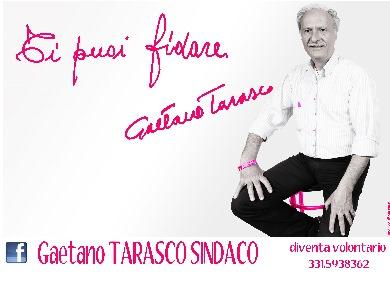 Presentazione ufficiale del candidato sindaco Gaetano Tarasco.
