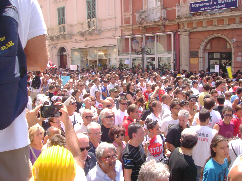 Taranto, voglia di partecipazione.