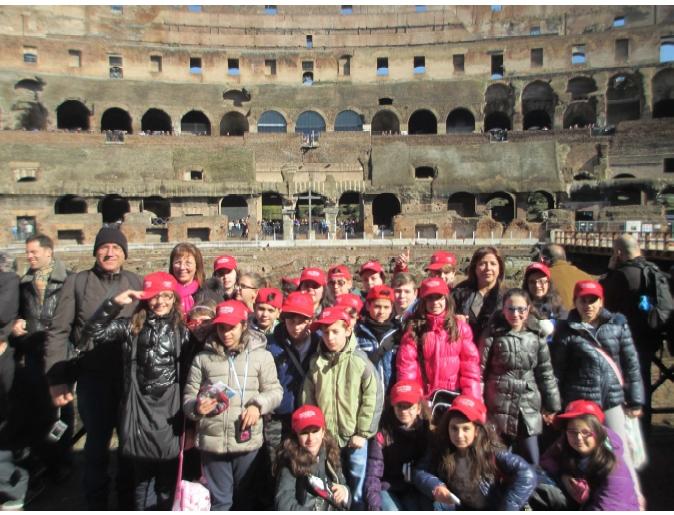 Le porte di Roma si aprono: … gli alunni delle classi quinta B e quinta C alla scoperta dei luoghi del passato e dove si decide il futuro!!!