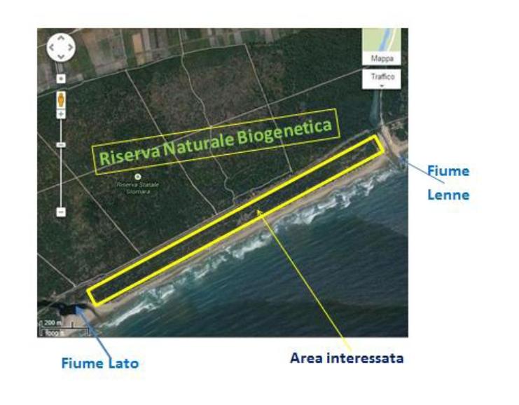 """Nella zona dunale tra Fiume Lenne e Fiume Lato si profila un nuovo """"assalto"""" al nostro territorio ed al nostro inestimabile patrimonio ambientale."""