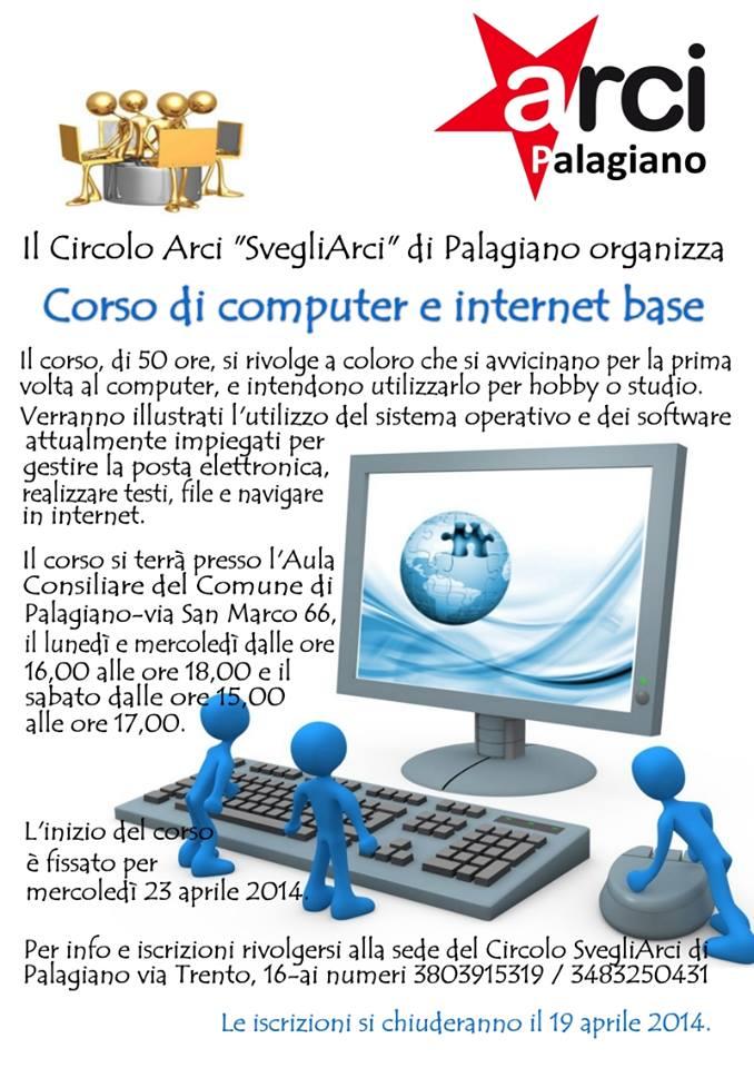 A Palagiano corso di Informatica e Internet di base