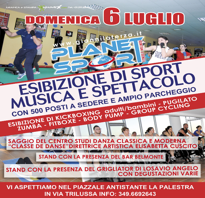 Planet Sport Palagiano in festa