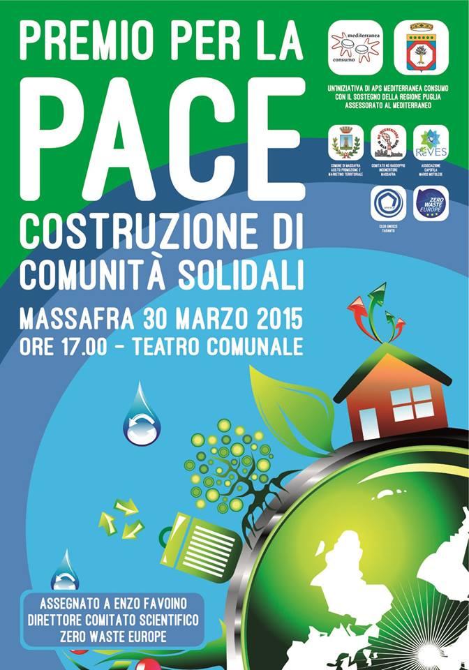 Massafra, Premio per la pace.