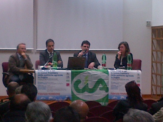 A Castellaneta si è parlato della nuova frontiera delle politiche agricole in Puglia