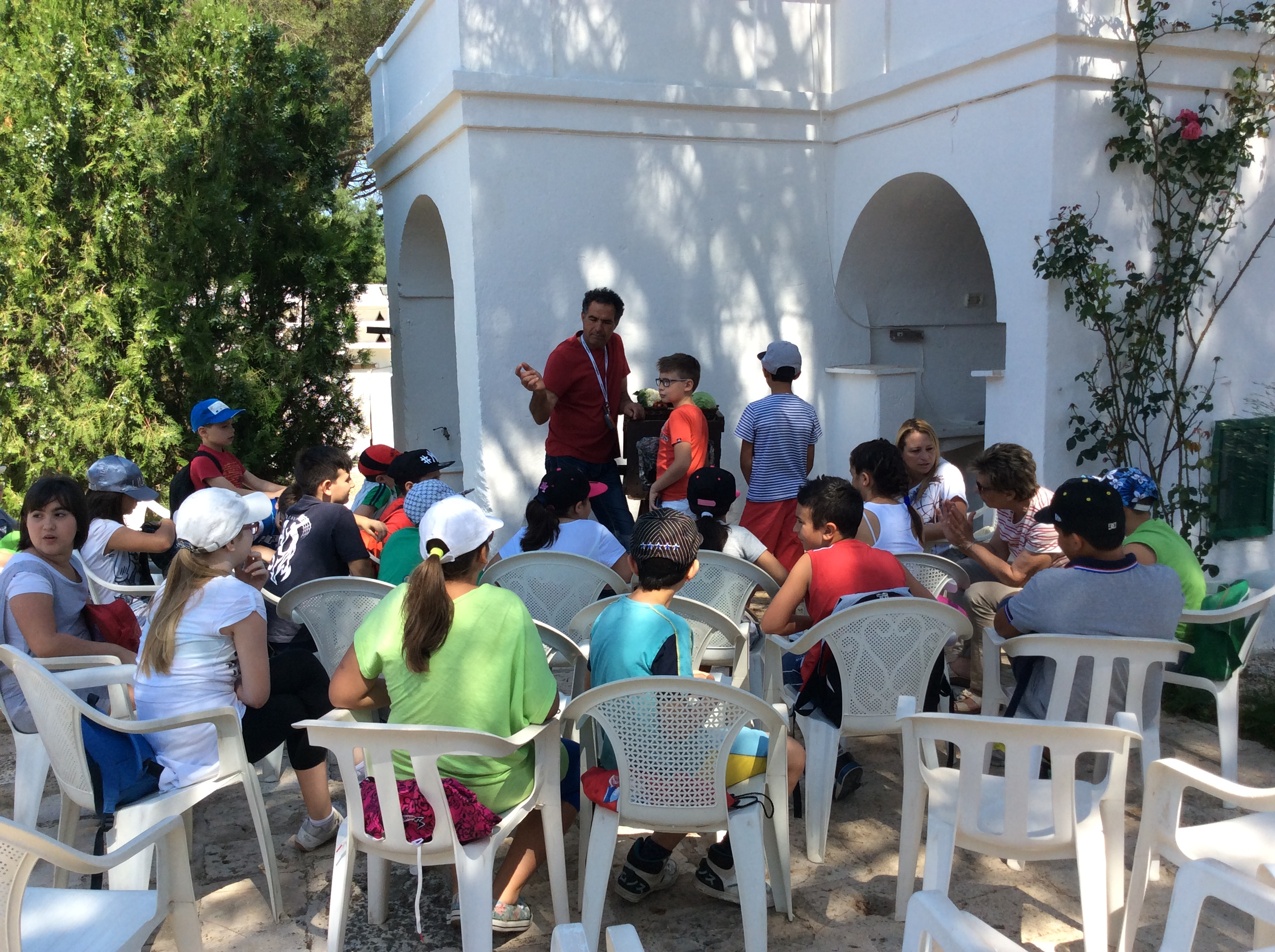 1000 bambini a Palagiano imparano a mangiare e a vivere meglio