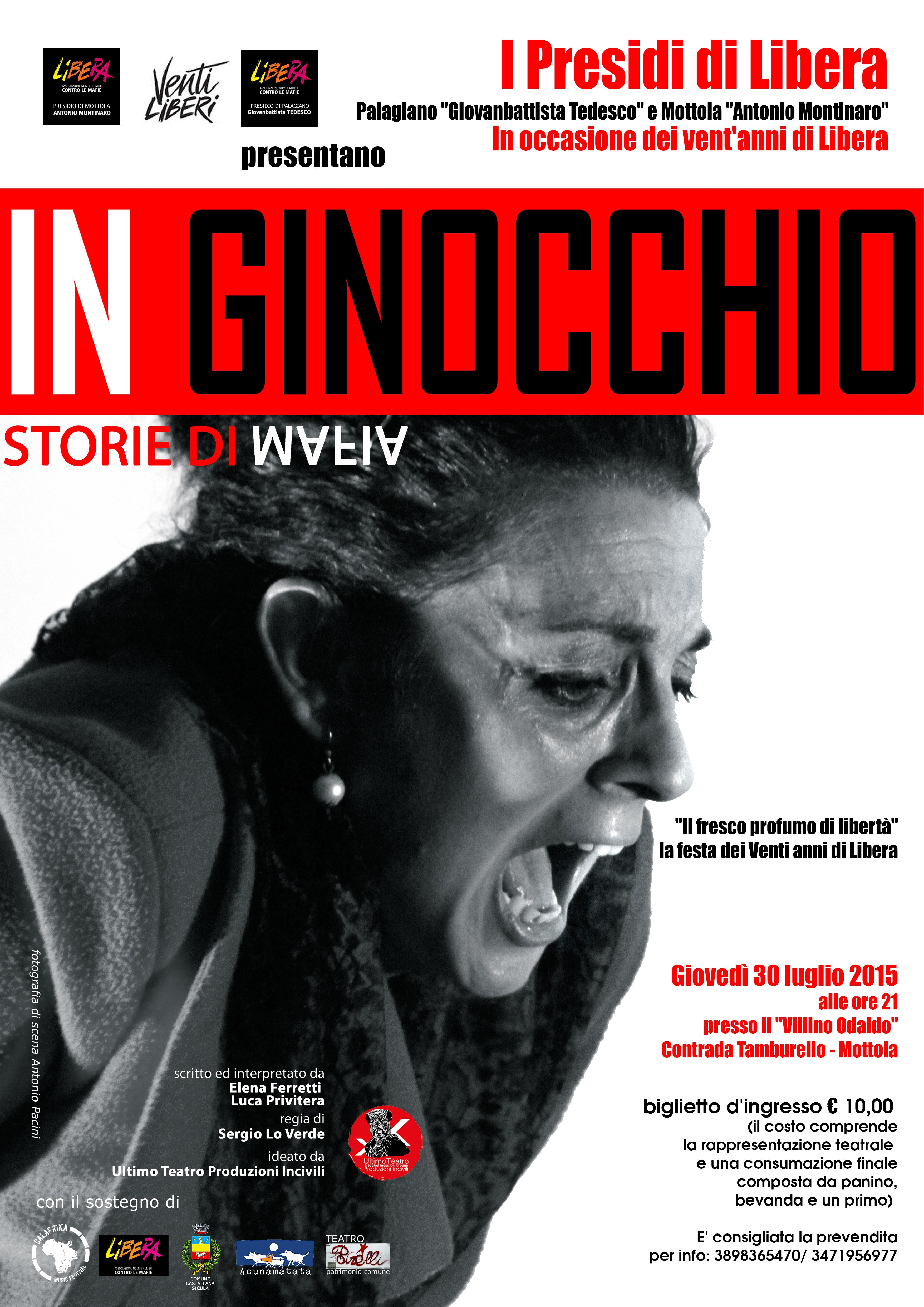 IN GINOCCHIO…storie di mafia