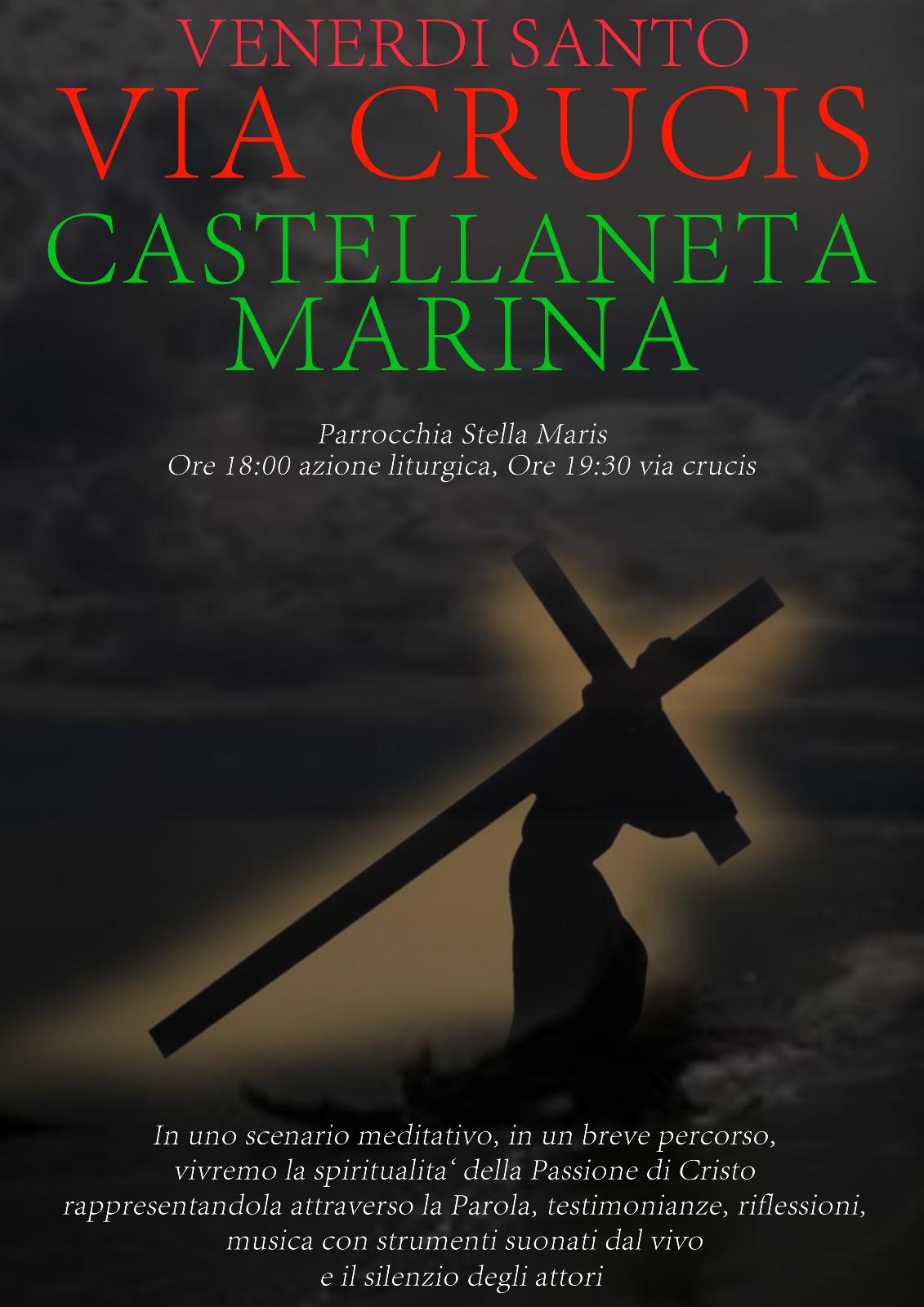 A Castellaneta Marina la Via Crucis della Parola tra musica, testimonianze e il silenzio degli attori