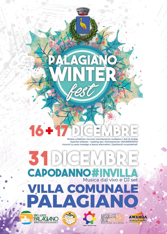 Palagiano Winter Fest 2016: tre giorni di arte, cultura, lavoro