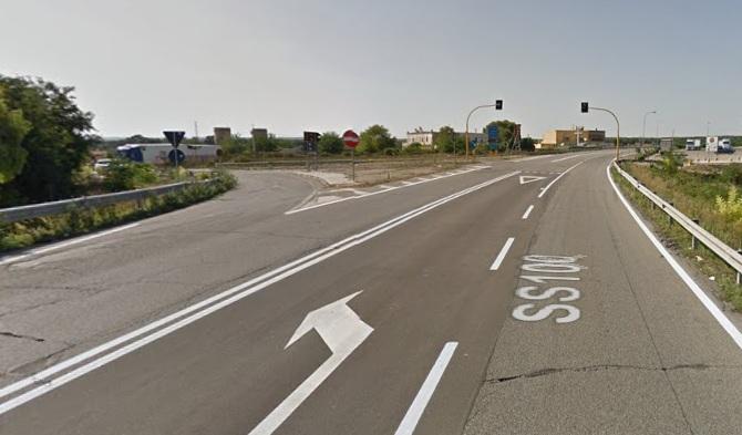 MOTTOLA (TA). Strada statale 100, il tratto mottolese è il più incidentato.