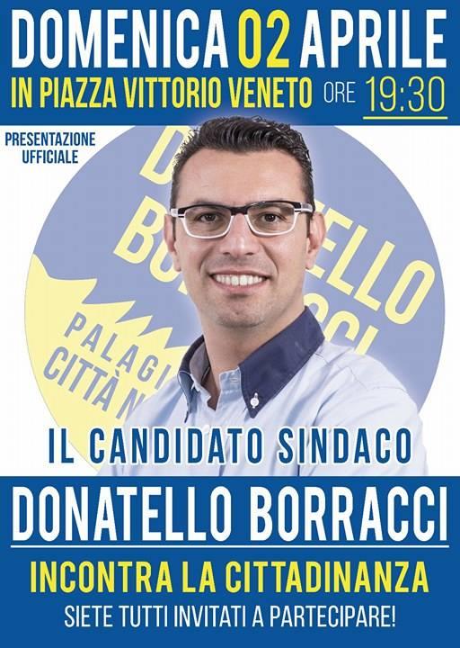 Donatello Borracci si candida a Sindaco di Palagiano