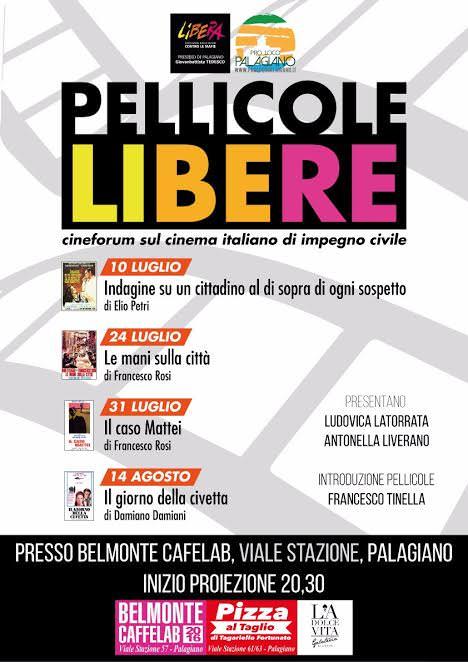 A Palagiano Rassegna CineforumPELLICOLE LIBERE