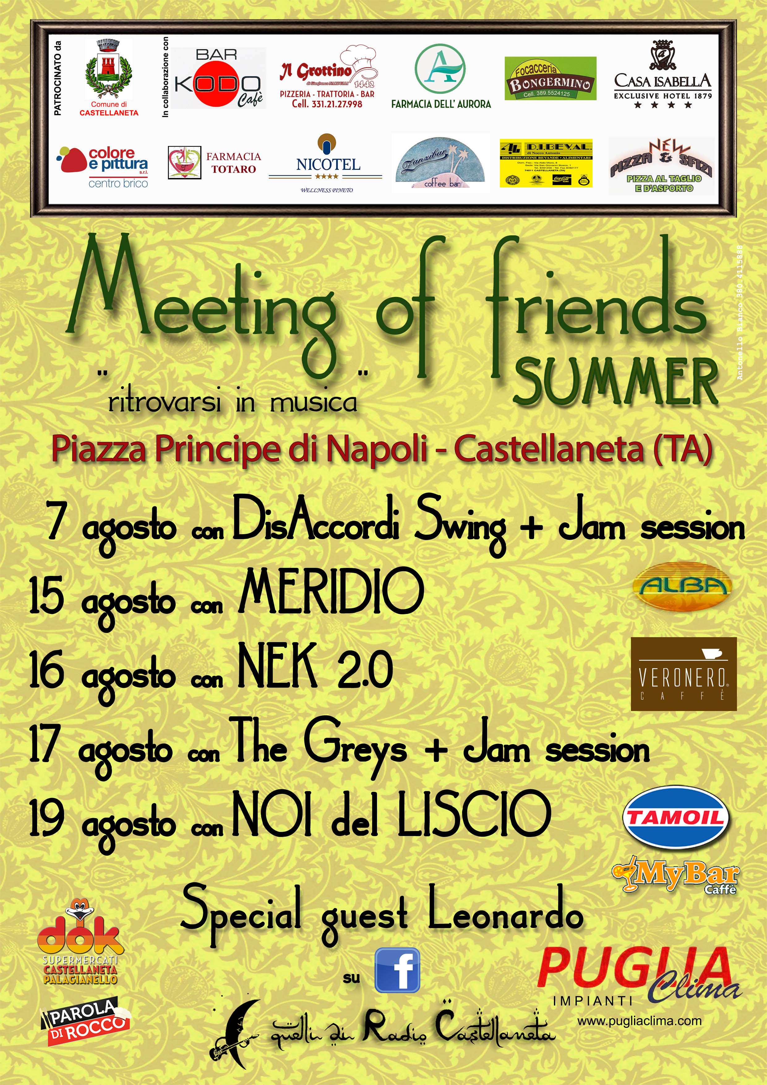 "Arriva ""Meeting of Friends Summer 2017"""