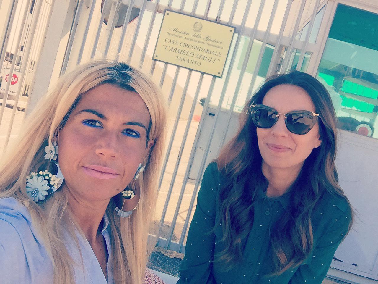 Carcere Taranto. Radicali italiani: Annarita Digiorgio in visita all istituto magli con il consigliere regionale Franzoso