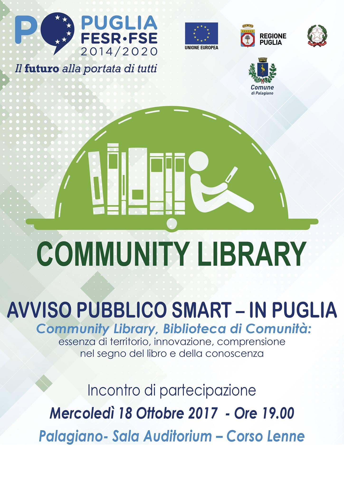 Community library: la Biblioteca partecipata. A Palagiano