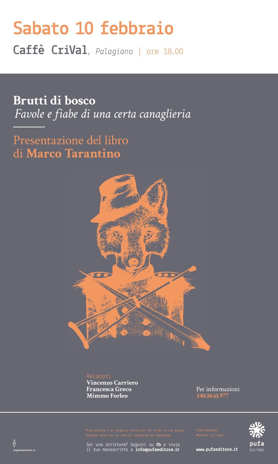 """A Palagiano """"Brutti di Bosco"""""""
