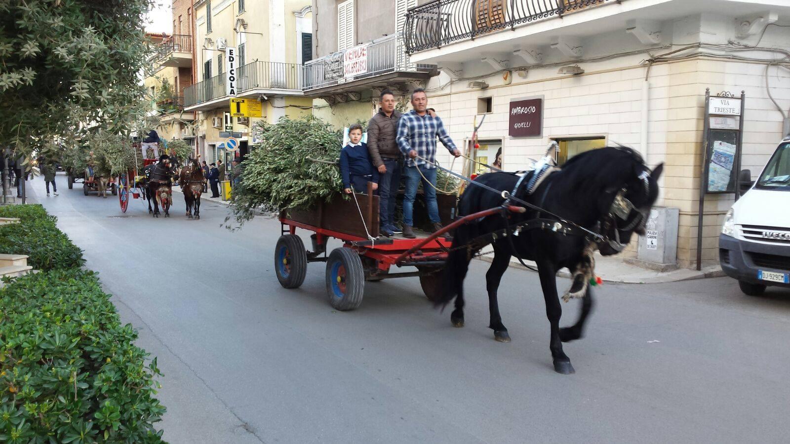 Rinnovata la tradizionale festa dei falò, dal quartiere Bachelet al campo San Nicola. Il paese riscopre la voglia di aggregarsi e stare insieme