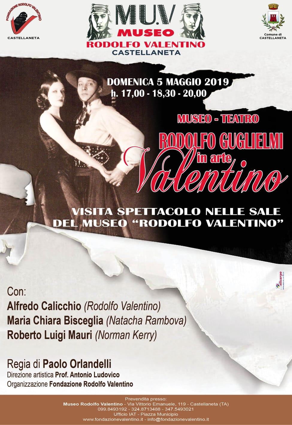 Visita animata del Museo Rodolfo Valentino