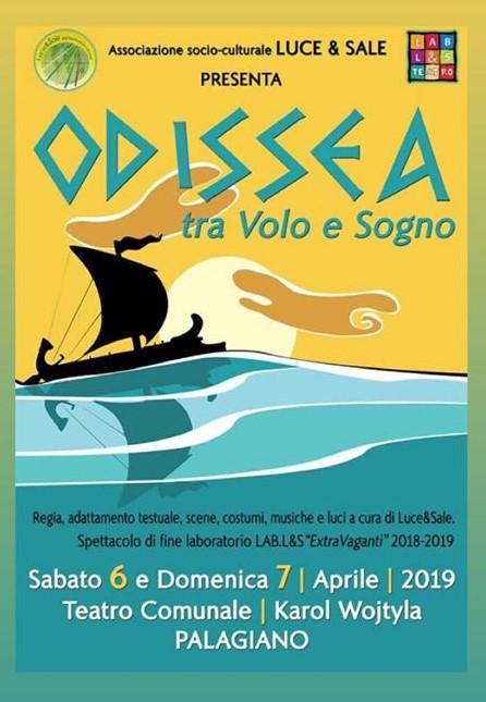 """Associazione Luce & Sale,""""L'Odissea: tra volo e sogno"""" ."""