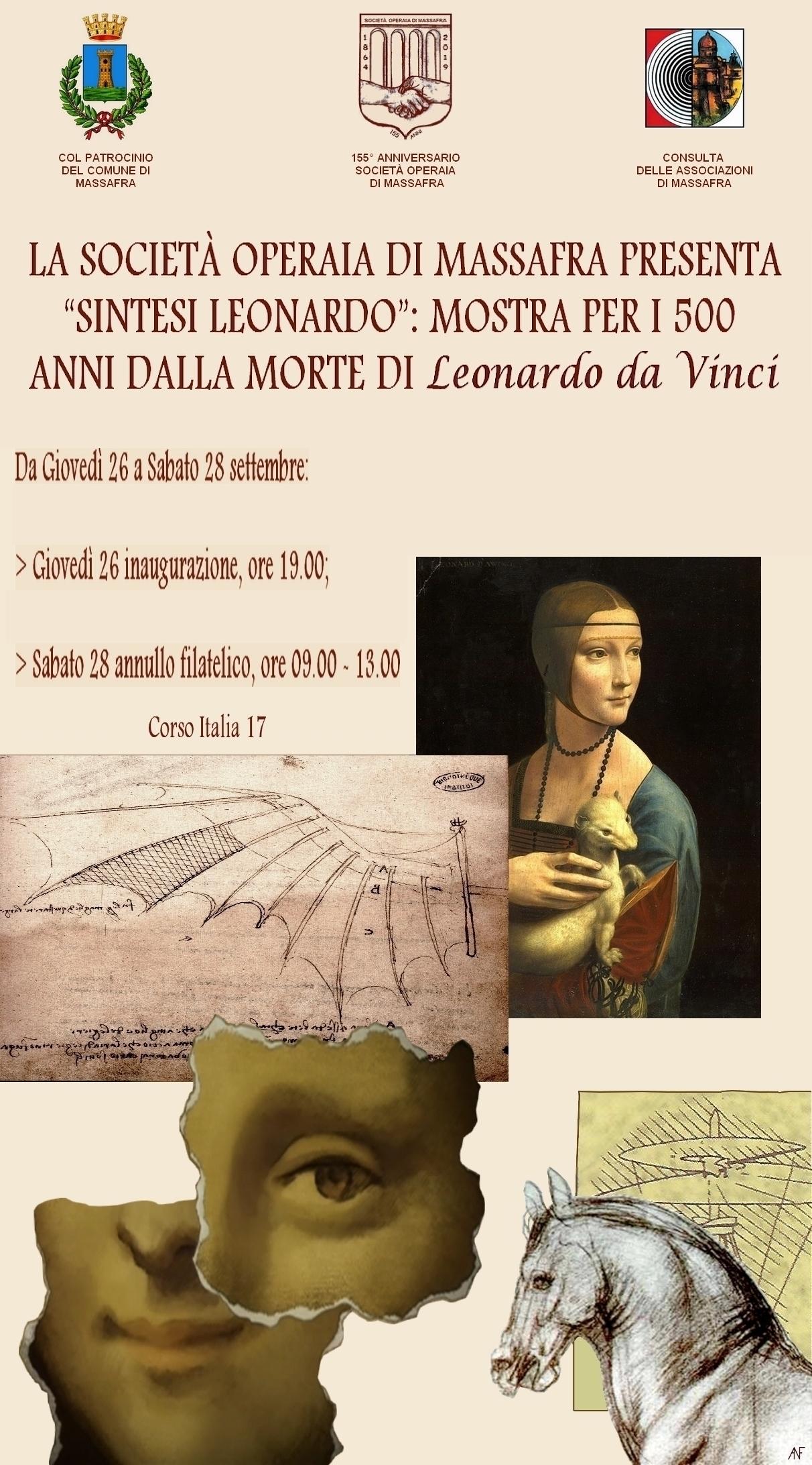 """La Società Operaia di Massafra presenta """"Sintesi Leonardo"""""""