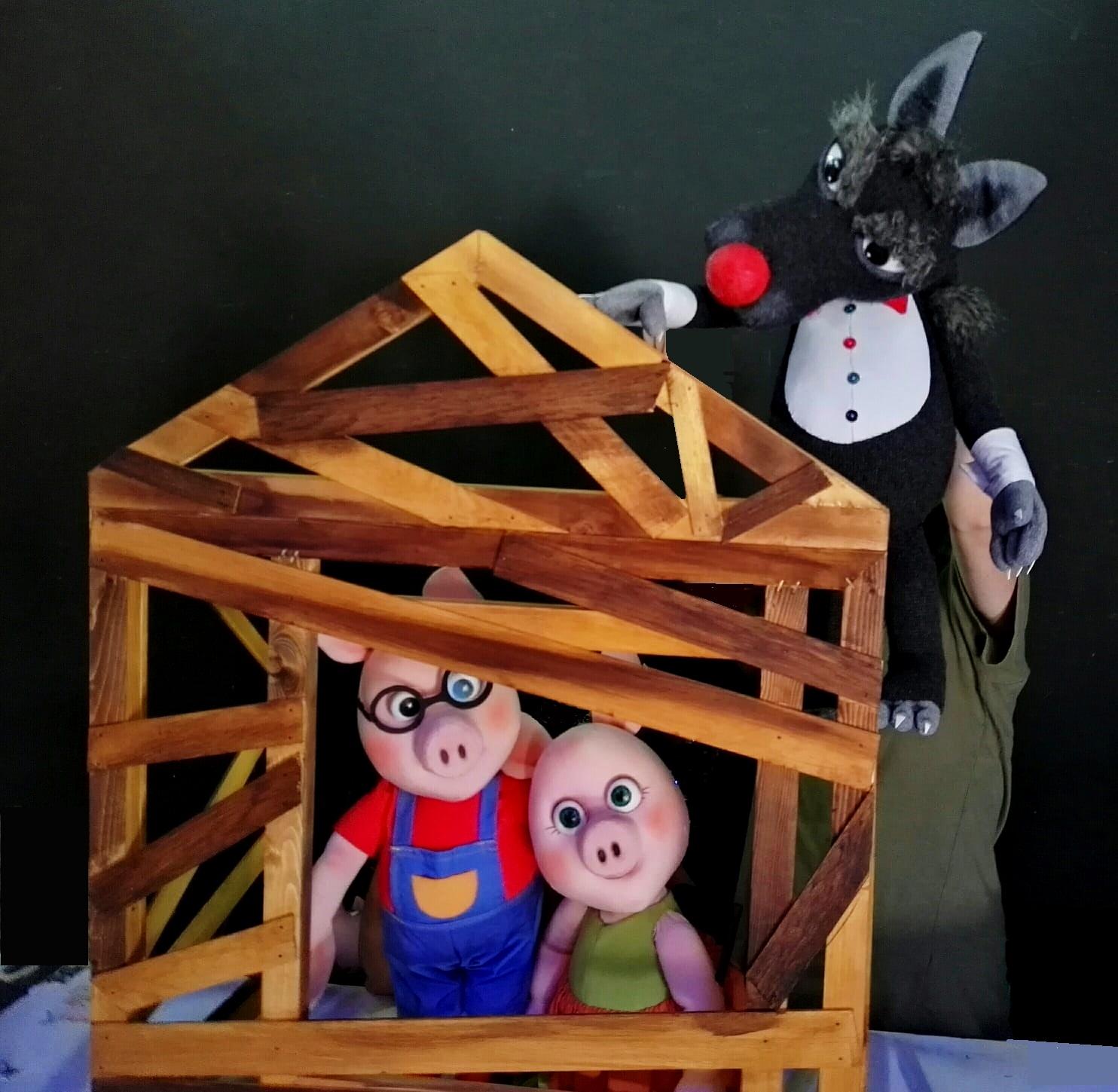 La celebre favola dei tre porcellini, domenica 10 Novembre 2019, al Teatro Comunale di Massafra