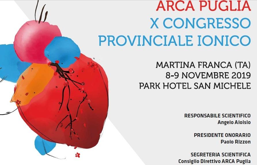 A MARTINA FRANCA (TA). 35^ Congresso Regionale di Cardiologia.