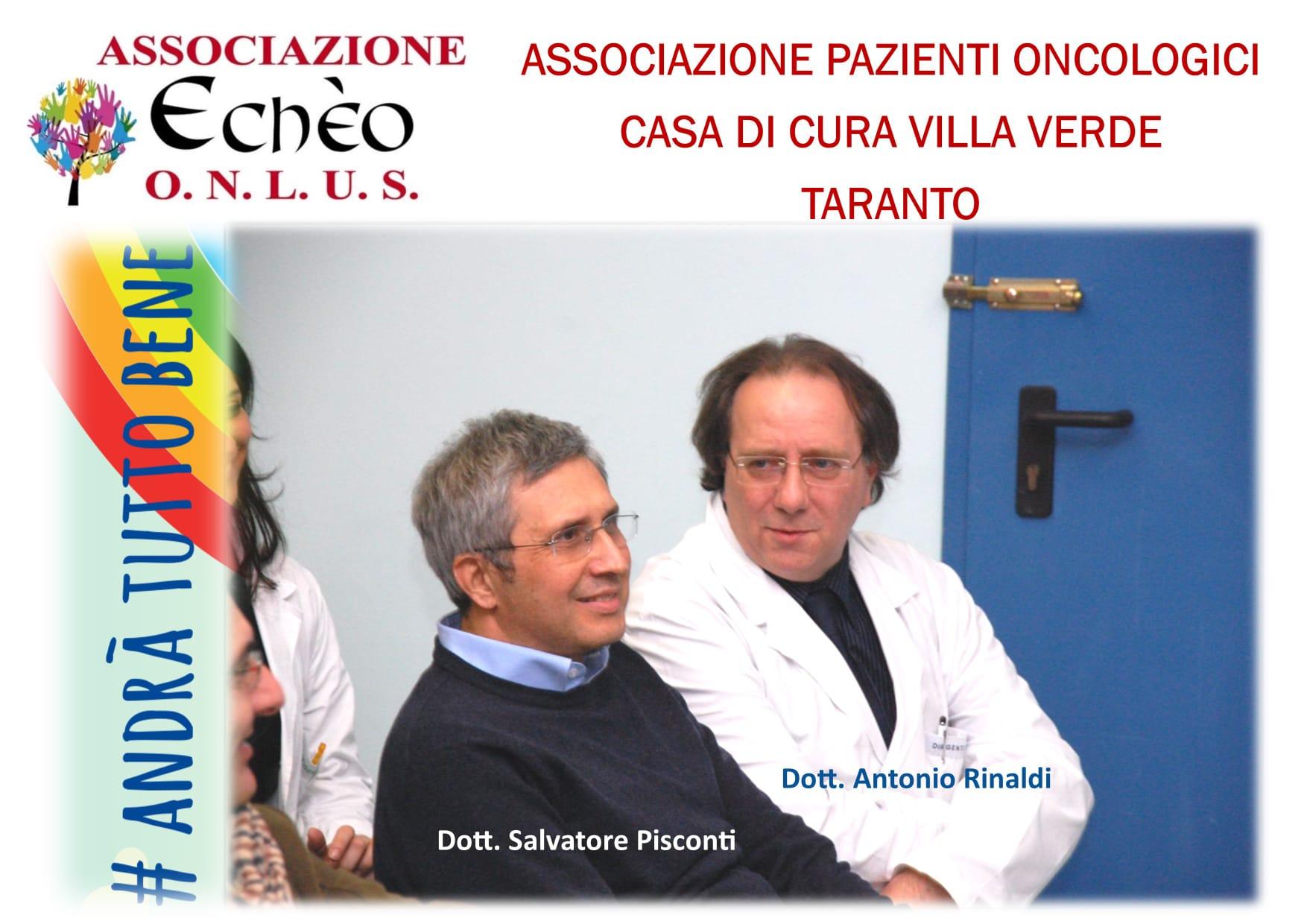ASSOCIAZIONE PAZIENTI ONCOLOGICI CASA DI CURA VILLA VERDE, TARANTO