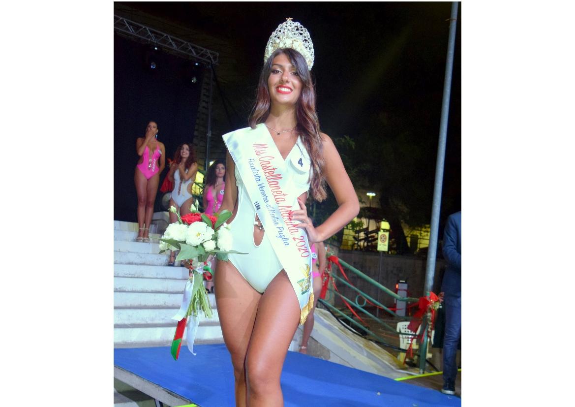 Miss Castellaneta Marina 2020 La vincitrice è una ventenne tarantina