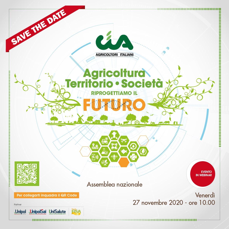 Riprogettiamo il futuro con Agricoltura Territorio e Società